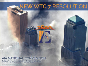 New WTC 7 Resolution - AIA 2016 Philadelphia
